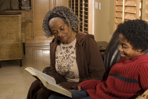 Seniors Raising Children Program