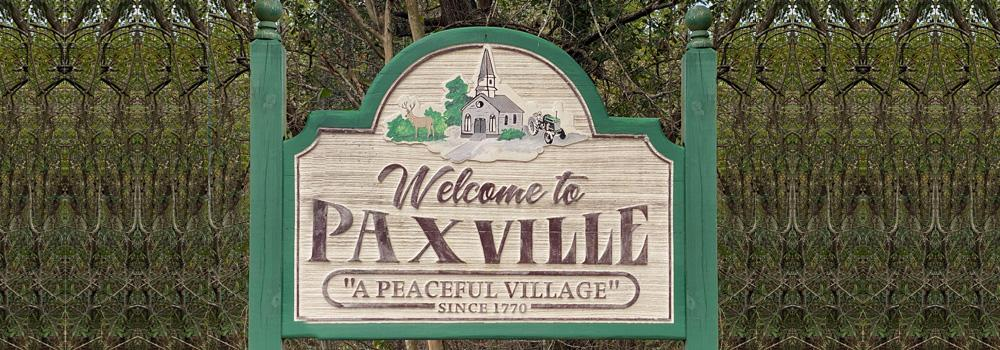Paxville, SC sign